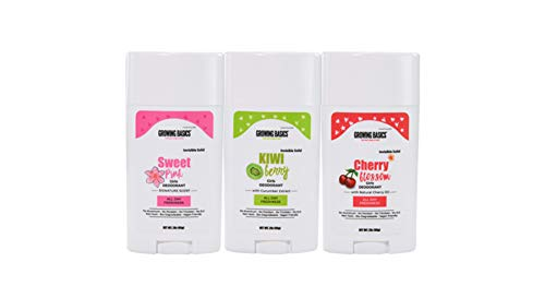 Moisture Absorbing Kids Deodorant