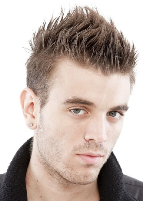Hairstyles For Short Hair Double Crown : ... Hair Men likewise Hairstyles For Men With Double Crown. on hairstyles