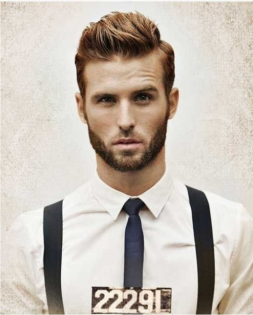 Brushed Up Hairstyle for Gentlemen