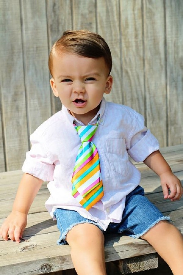 Frills-free Clean Cut for Kids