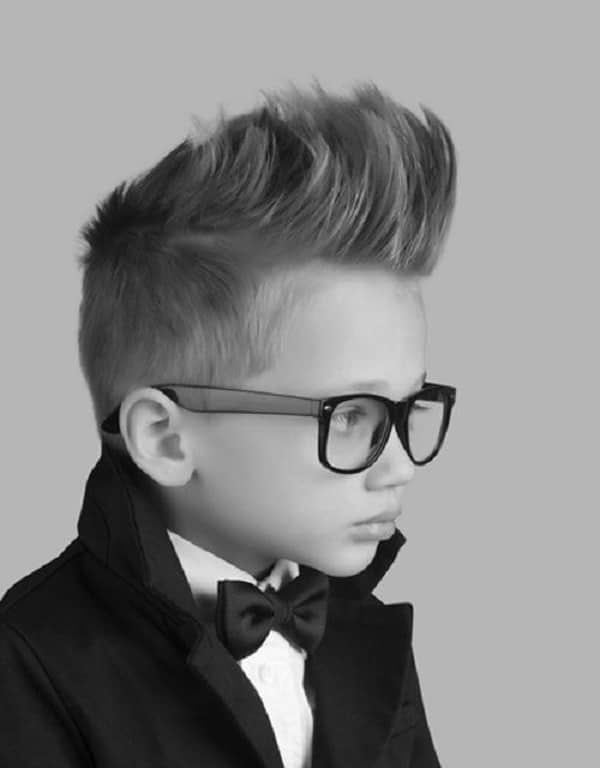 Hipster Updo Boy Haircuts