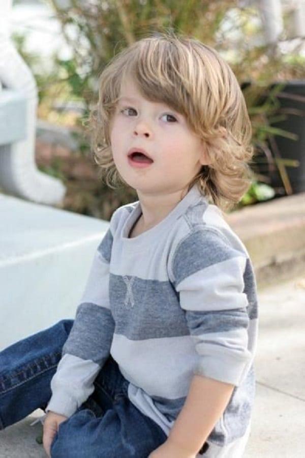 Long Shaggy Boy Haircut