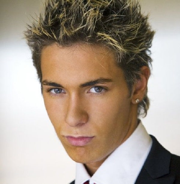 2000 Mens Hairstyles Frosted Tips