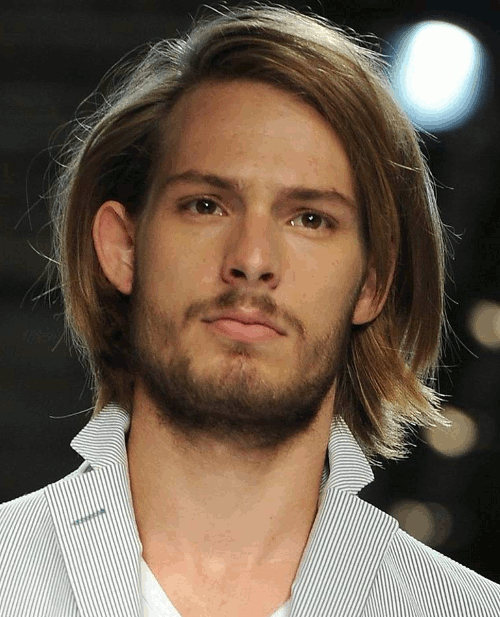 Model Locks hairstyle for men