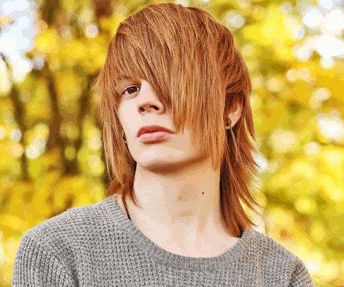 Skater Boy hairstyle for men