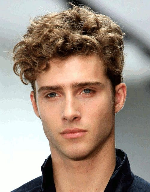 The Curly Undercut Hairstyle Men