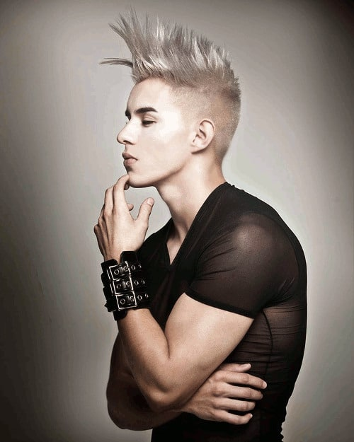 The Mohawk Inspired Undercut Hairstyle Men