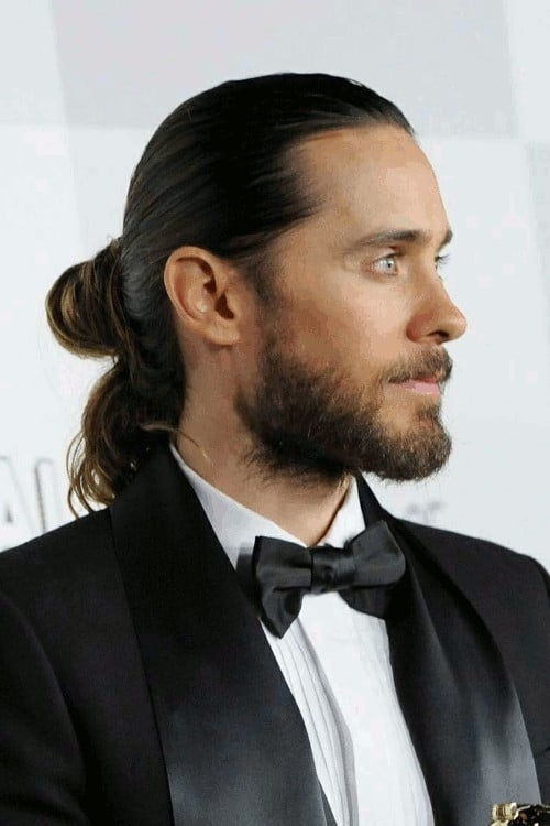 The Samurai Bun men's long hairstyle
