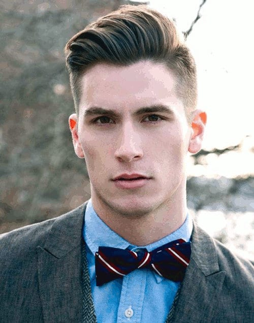 mens hairstyles over 50 : The Side Part Undercut Hairstyle Men