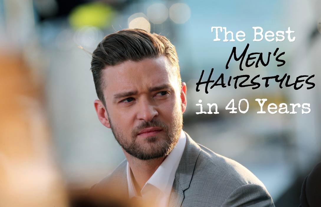 Admirable Hairstyle Evolution The 40 Best Men39S Hairstyles In 40 Years Short Hairstyles Gunalazisus