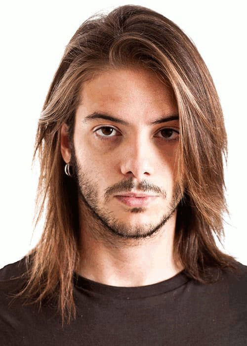 Messy Long Hairstyles For Men