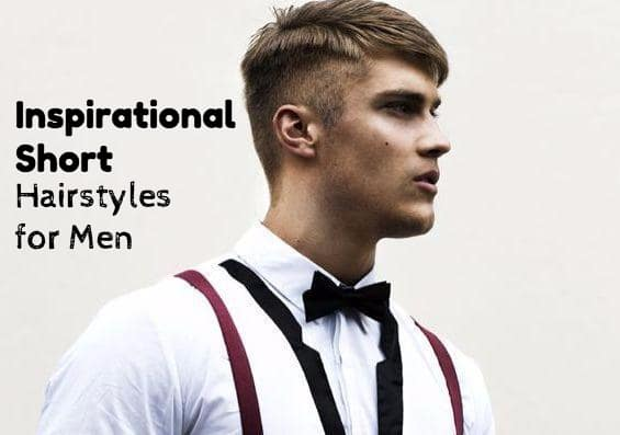 Excellent 30 Inspirational Short Hairstyles For Men Hairstyles For Men Maxibearus