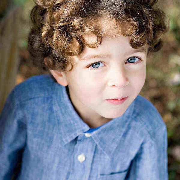 boys curly haircut