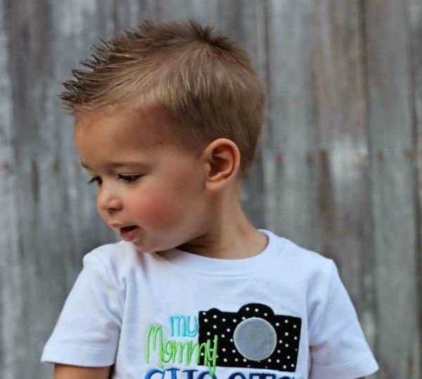 Astonishing 23 Trendy And Cute Toddler Boy Haircuts Short Hairstyles Gunalazisus