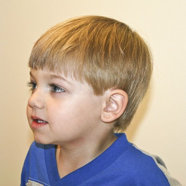 Awesome 23 Trendy And Cute Toddler Boy Haircuts Hairstyles For Men Maxibearus