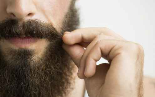 apply moisturizer to beard goatee proper care