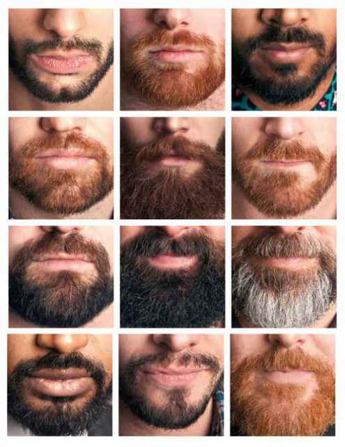 different styles of goatee for men