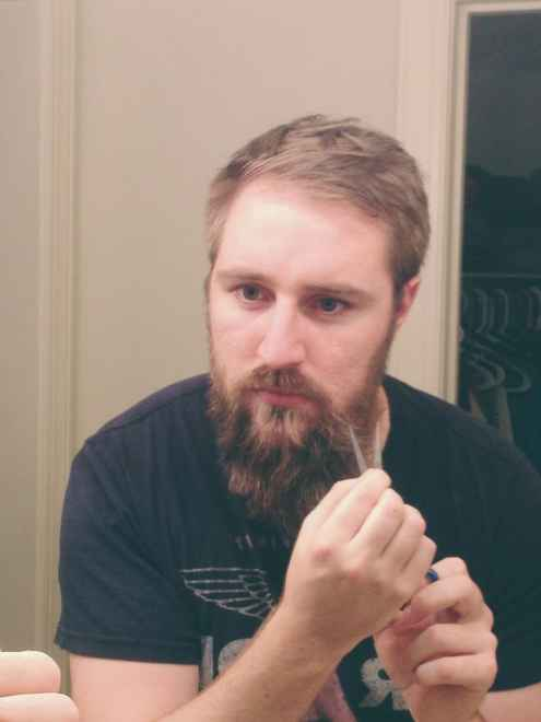get started in shaping your goatee