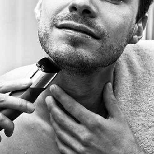 how to trim a goatee