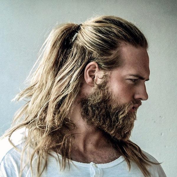 Beard and Long Hair