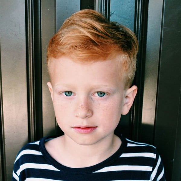 Swell 42 Trendy And Cute Boys Hairstyles For 2017 Hairstyles For Women Draintrainus
