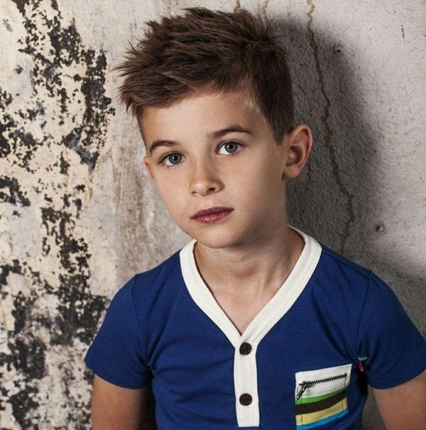 Swell 42 Trendy And Cute Boys Hairstyles For 2017 Hairstyle Inspiration Daily Dogsangcom