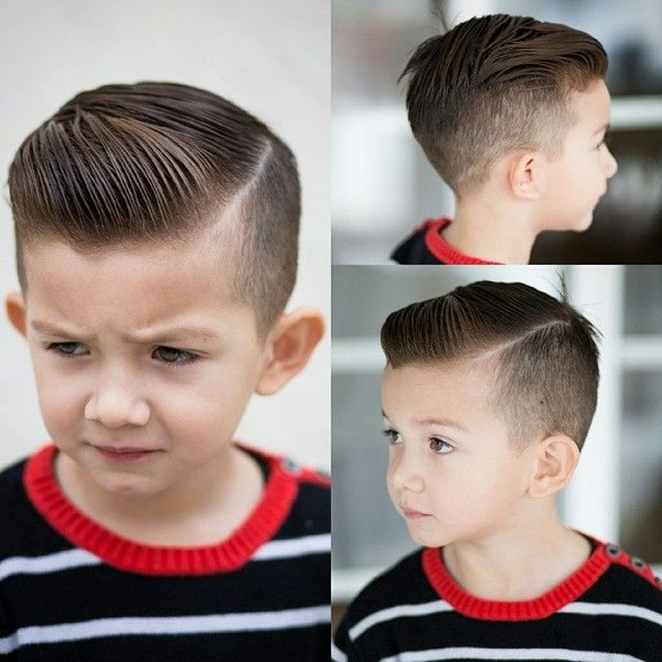 43 Trendy and Cute Boys Hairstyles for 2018 - Cute Hairstyle