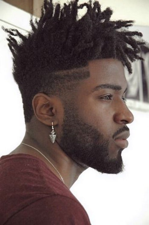 Pompadour Haircut Length : 31 stylish and trendy black men haircuts in 2016 2017