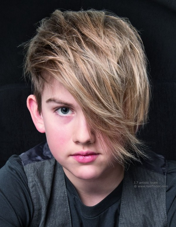 Super 42 Trendy And Cute Boys Hairstyles For 2017 Hairstyles For Men Maxibearus