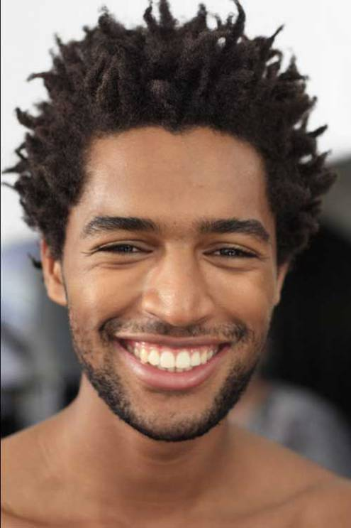 Long Twisted Hair black men hairstyle chart