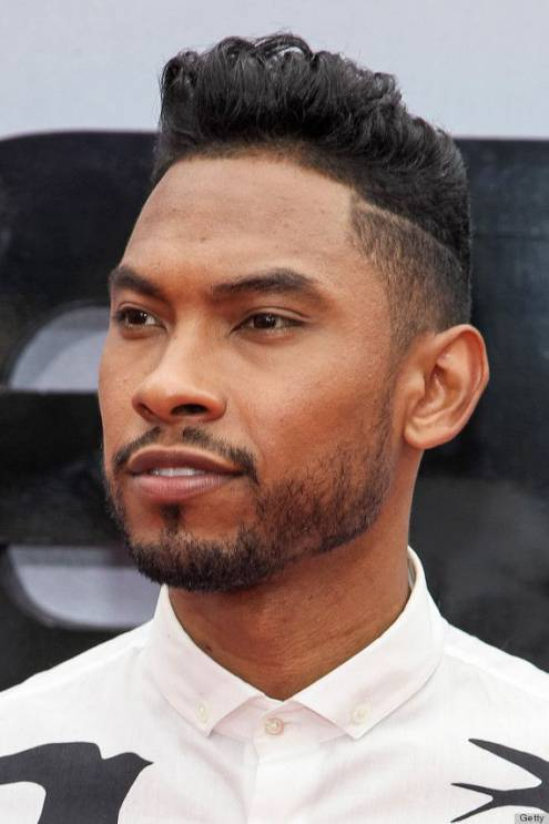 Pompadour black men hairstyle names