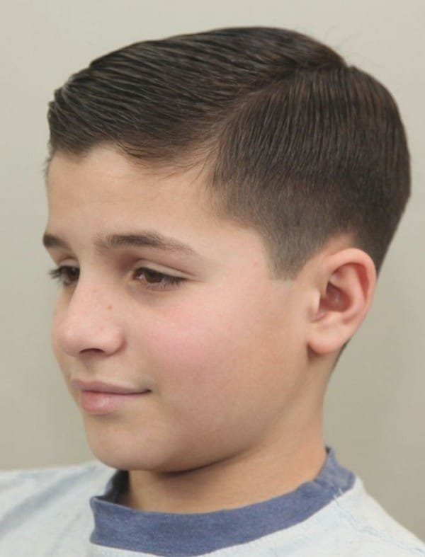 Boys Hairstyles hairstyle Slicked Hairstyle For Boys