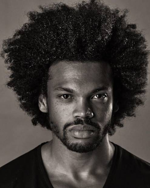 Thick Curly Haircut black men haircut chart