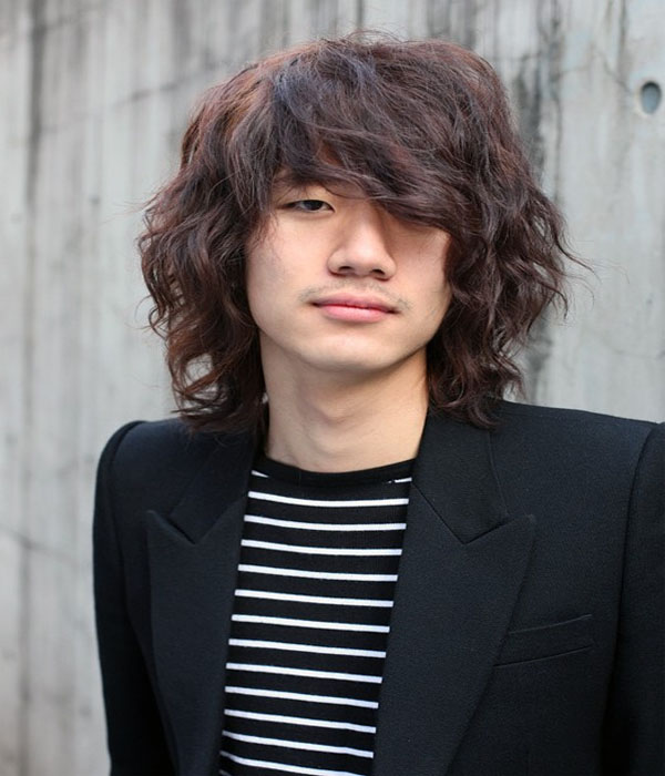 Korean Asian Hairstyles Men 2015