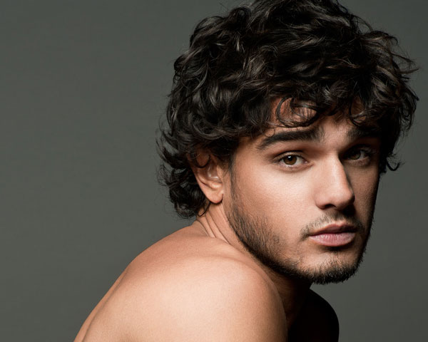 medium curly haircuts for men