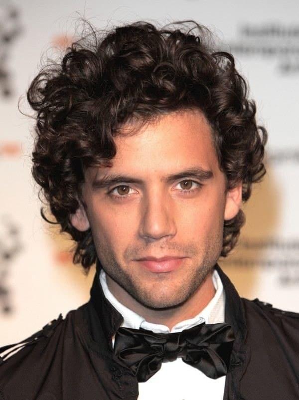 natural soft curl hair men