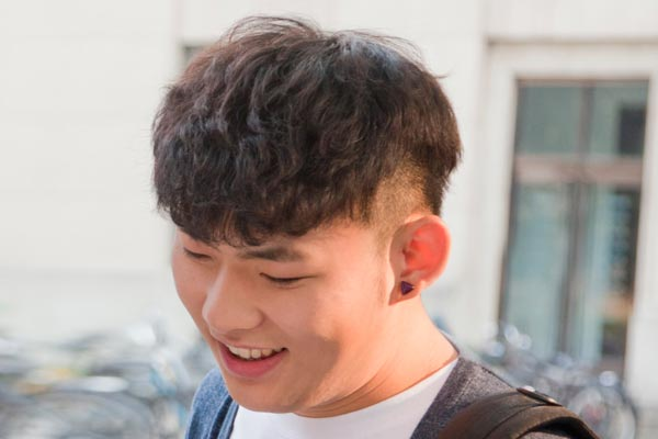 trendy Asian Hairstyle Men