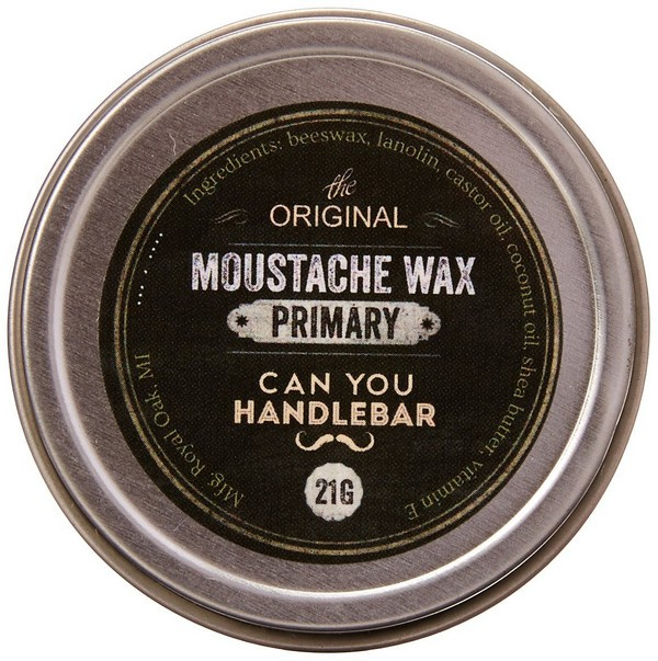 Can You Handlebar Primary Moustache Wax