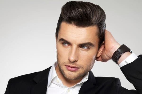 Cool Pompadour Hairstyle