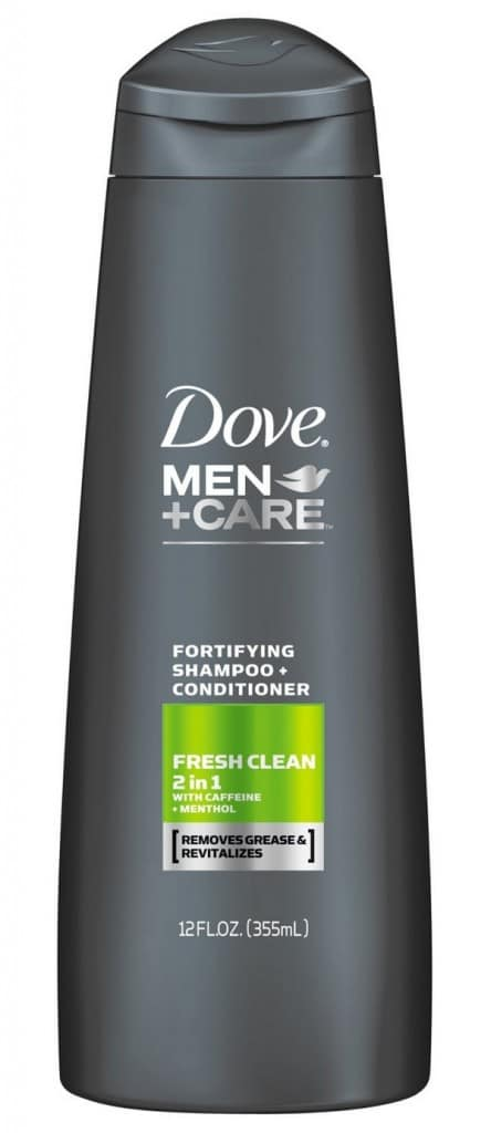 Dove Men+Care Fresh Clean Best Shampoo For Men