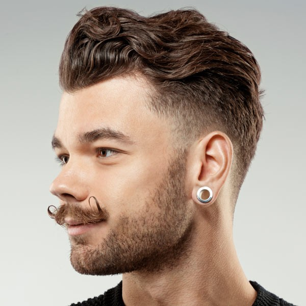 Hipster Haircut With Beard