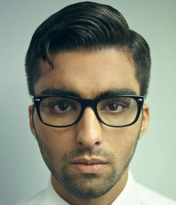 Hipster Haircut With Side Part