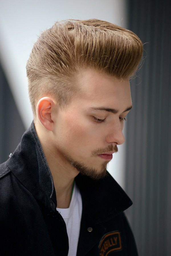 How To Create A Pompadour