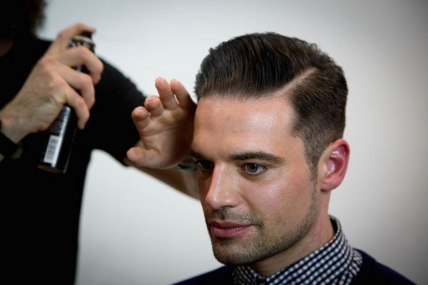 How To Cut A Pompadour