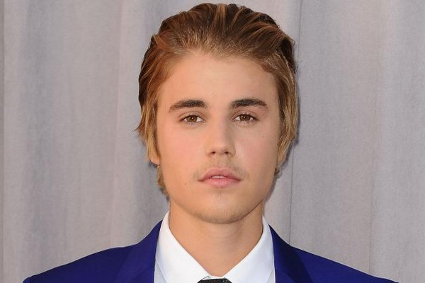 Justin Bieber Slicked Back Hair