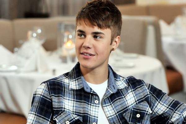 Justin Bieber Tousled Hairstyle