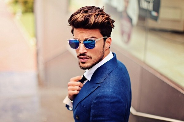 Men Pompadour Hairstyles