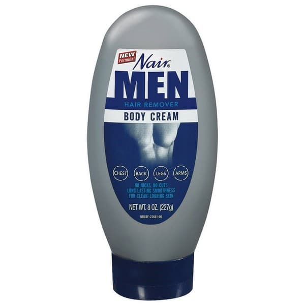 Nair Hair Removal Cream For Men 8 Oz.