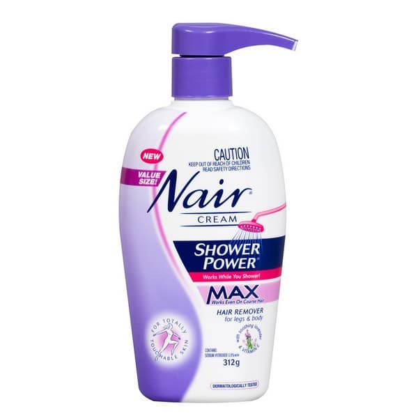 Nair Shower Power Max Hair Removal Cream