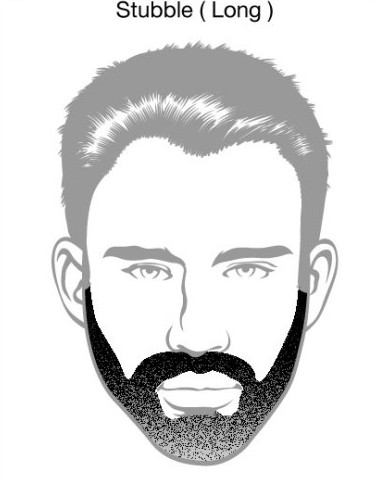 Long Stubble Beard Styles
